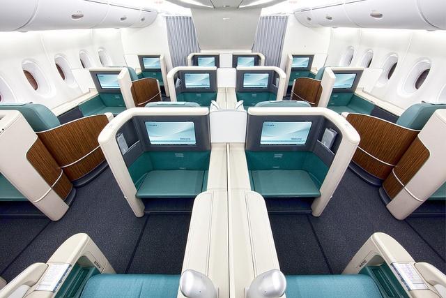 A380 First Class 2 by Korean Air KE, via Flickr