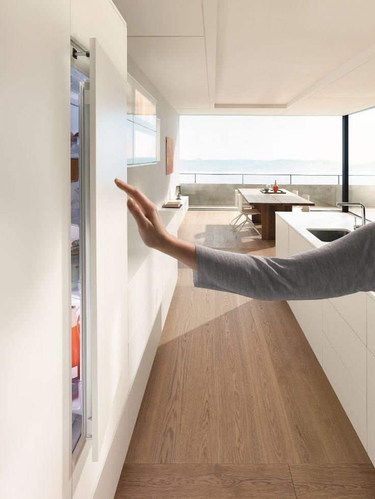 Blum servo-drive flex voor greeploze koelkast - Product in beeld - Startpagina voor keuken ideeën | UW-keuken.nl