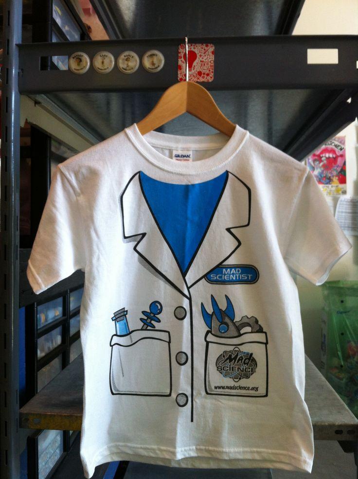 Science lab coat shirt