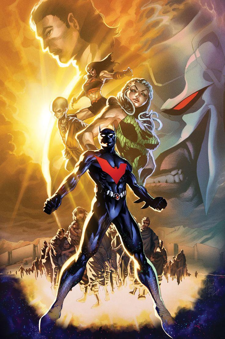 BATMAN BEYOND #11 Written by DAN JURGENS Art by BERNARD CHANG Cover by PHILIP TAN