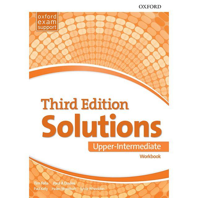 Solutions 3rd Edition Upper Intermediate Workbook Libro Ingles Libros Ingles