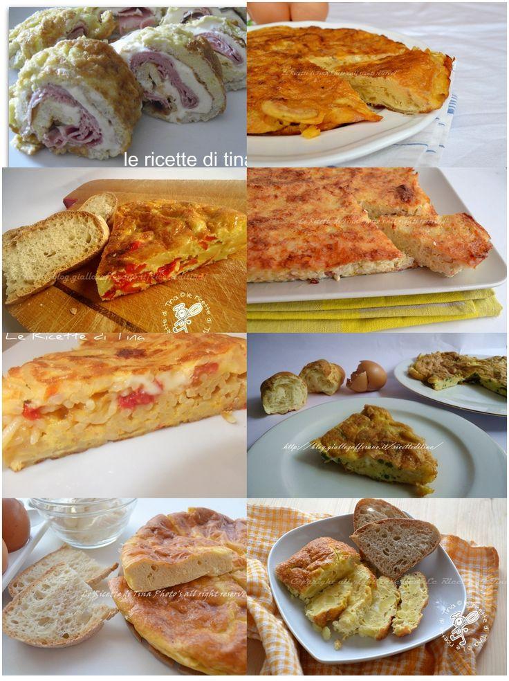 Ricettario gratis frittate in padella e al forno