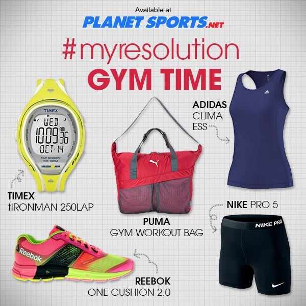 Let's go more frequent to the gym! :) #gym #sportswear #timex #adidas #puma #reebok #nike #styleinspiration #sports #planetsports