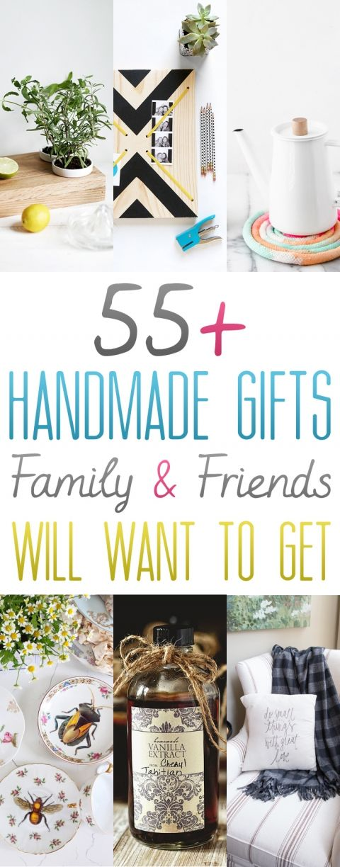 Best 25 handmade gifts ideas on pinterest diy gifts for Homemade christmas gifts for friends and family