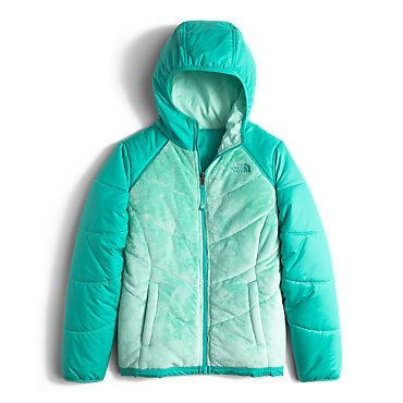 The North Face Girls' Reversible Perseus Hooded Fleece Jacket: Kids