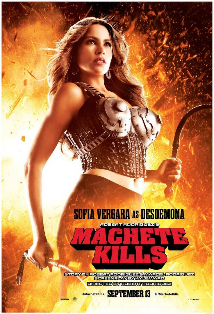 New MACHETE KILLS Poster With Sofia Vergara