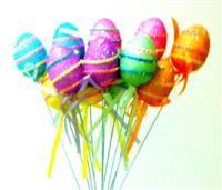 Pastel Yumurta Dekor/Şeker Çubuğu, 12'li