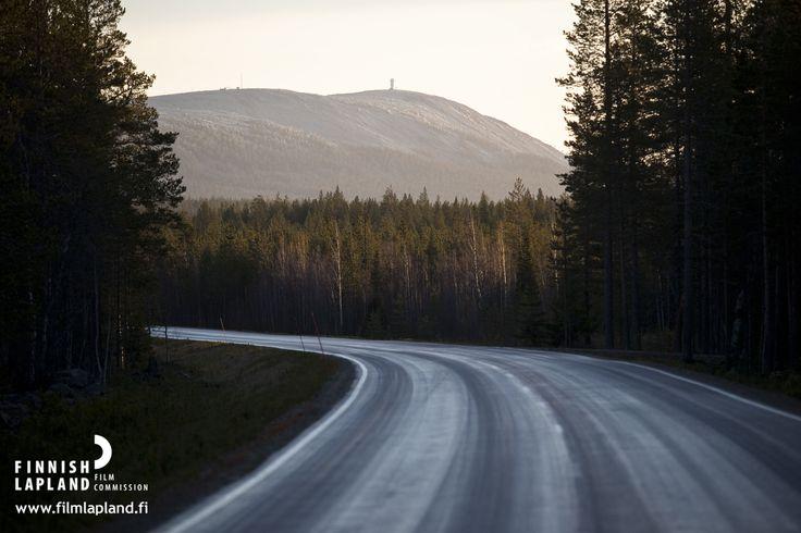 Luosto, Finnish Lapland. Photo by Jani Kärppä/ Lappikuva. #filmlapland #arcticshooting #finlandlapland