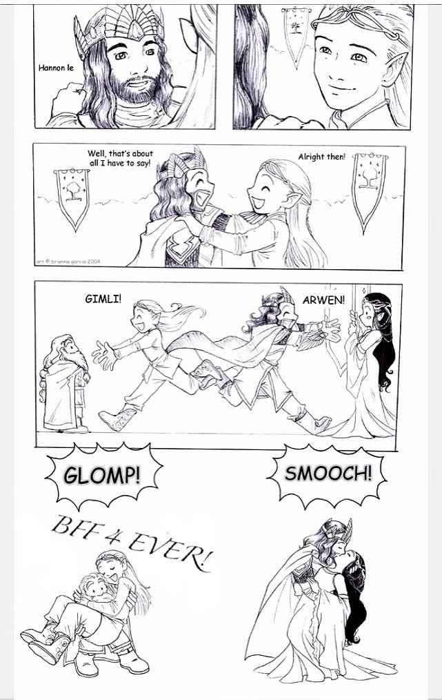 gimli and legolas relationship test