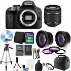 Nikon D3300 Digital SLR Camera with 18-55mm + Top Accessory Kit!