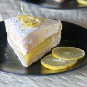 Λεμονόπιτα με κρέμα και μαρέγκα