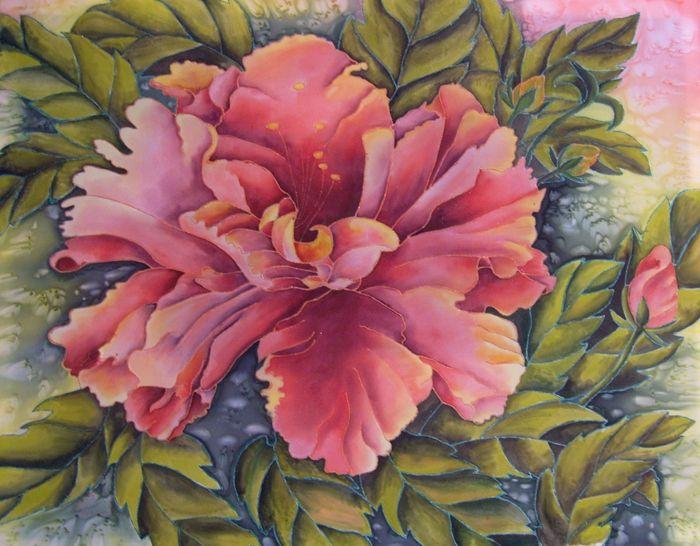 imgplusdb.com / цветы гибискуса батик