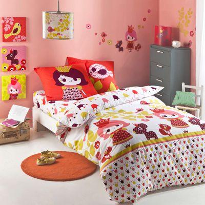 14 best images about linge de lit fille girl bed linen on - Housses de couettes 3 suisses ...