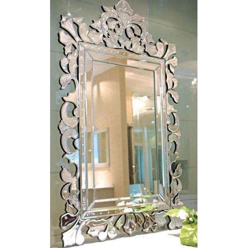 Thermogroup Ablaze Art Deco Contemporary Sylvia Mirror