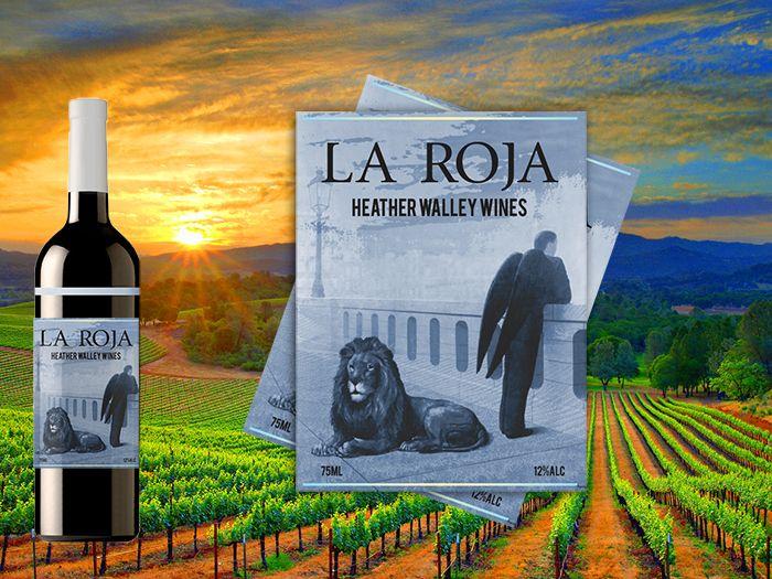 la roja Chilean wine