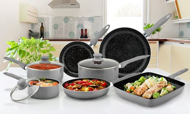 From $25 for Stonechef Stone Coated Cookware (Don't Pay up to $367)