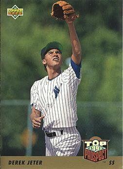 1993 Upper Deck Baseball #449 Derek Jeter Rookie Card - http://www.rekomande.com/1993-upper-deck-baseball-449-derek-jeter-rookie-card/