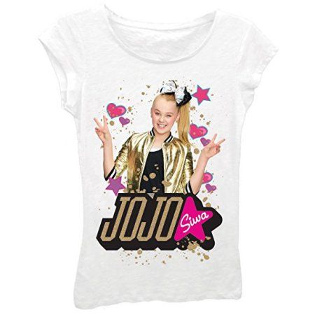 Free Shipping. Buy Nickelodeon Girls' Jojo Siwa Short Sleeve T-Shirt Medium at Walmart.com