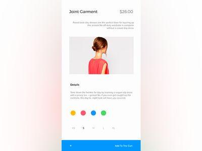 Garment Shop App