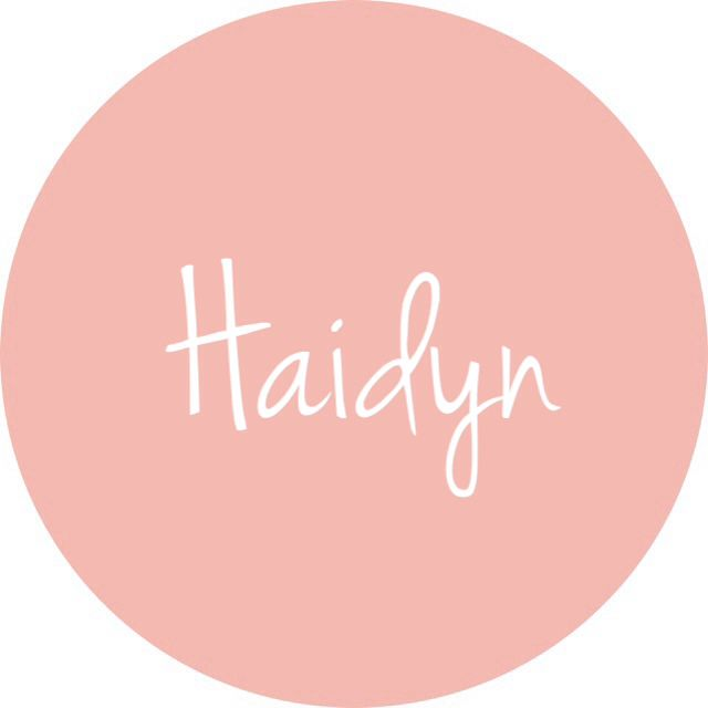 Haidyn - different baby girl spelling of a cute tomboy name!
