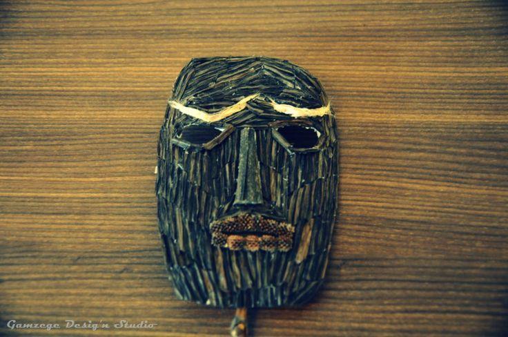 Mask Yellow eyebrow Wall Art Gamzege Desig'n Studio www.gamzegedesignstudio.com