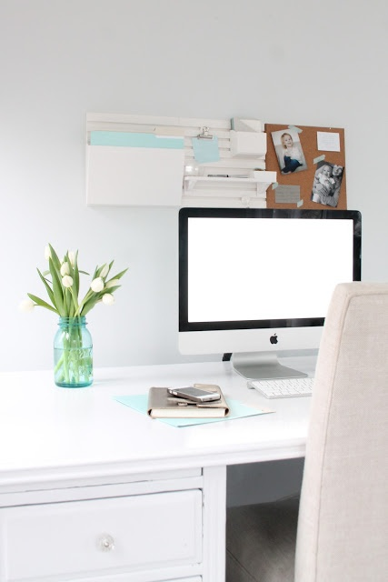 Tips for creating an Organized and Inspired Office | Home