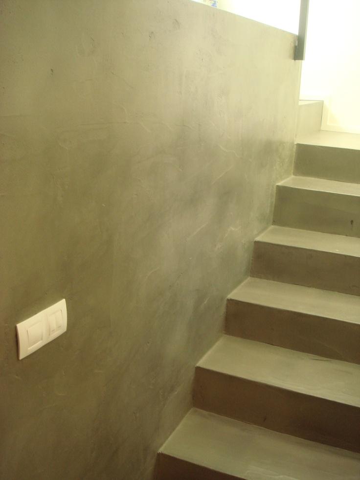 Escaleras realizadas en #microcemento