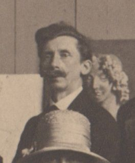 W. Davidson in a Glasgow School of Art staff photograph (GSA Archive reference GSAA/P/1/1022)