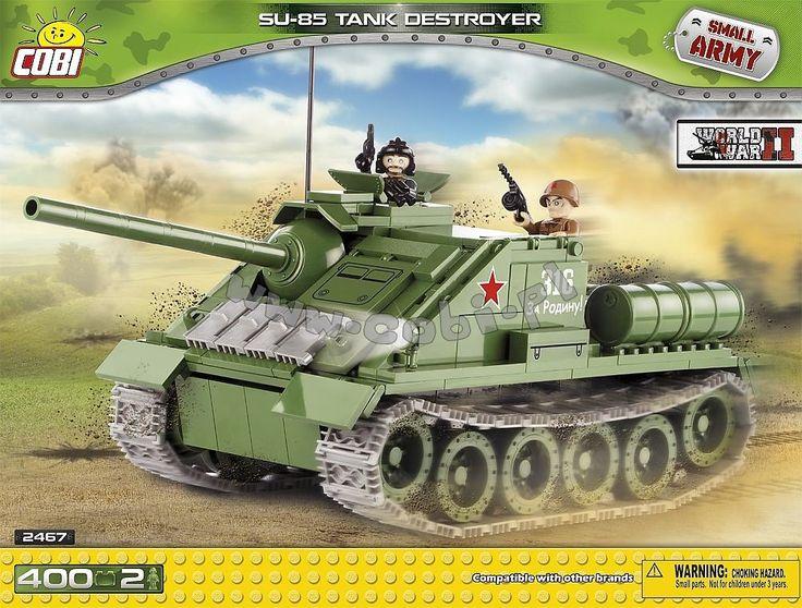 SU-85 - średnie działo samobieżne