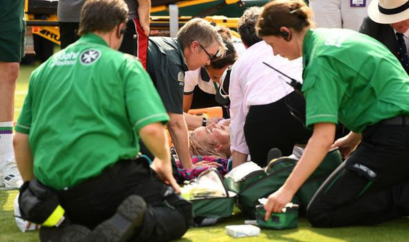 Bethanie Mattek-Sands latest: Live updates after horror Wimbledon knee injury