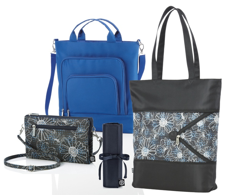 Beyond A Bag collection mixes colors and prints with panache.