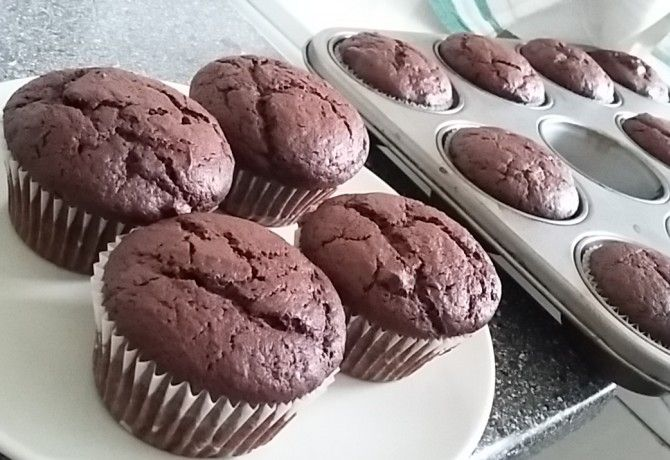 Rusztikus csokis muffin