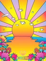 ☯☮ॐ American Hippie Bohemian Psychedelic Art ~ Peter Max: Sunrise