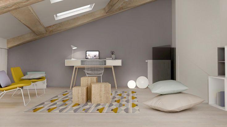 Une maison lyonnaise toute en niveaux optimisée par Marion Lanoë