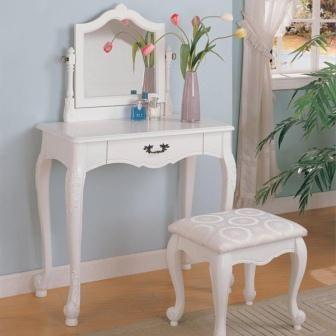 Meja Rias Anak Warna Putih