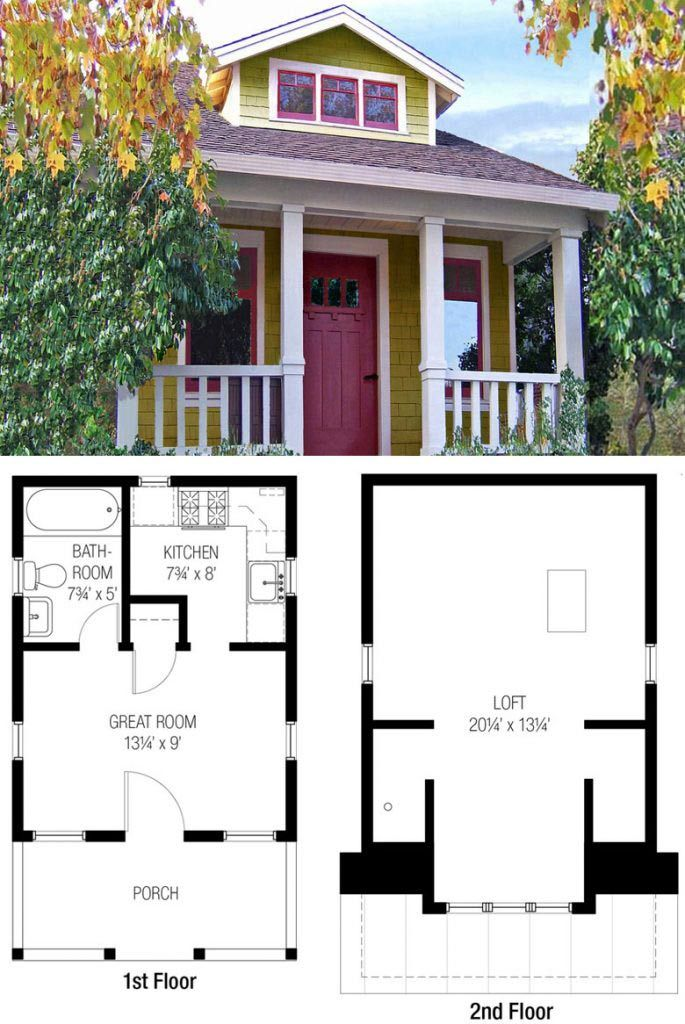 27 Adorable Free Tiny House Floor Plans Tiny House