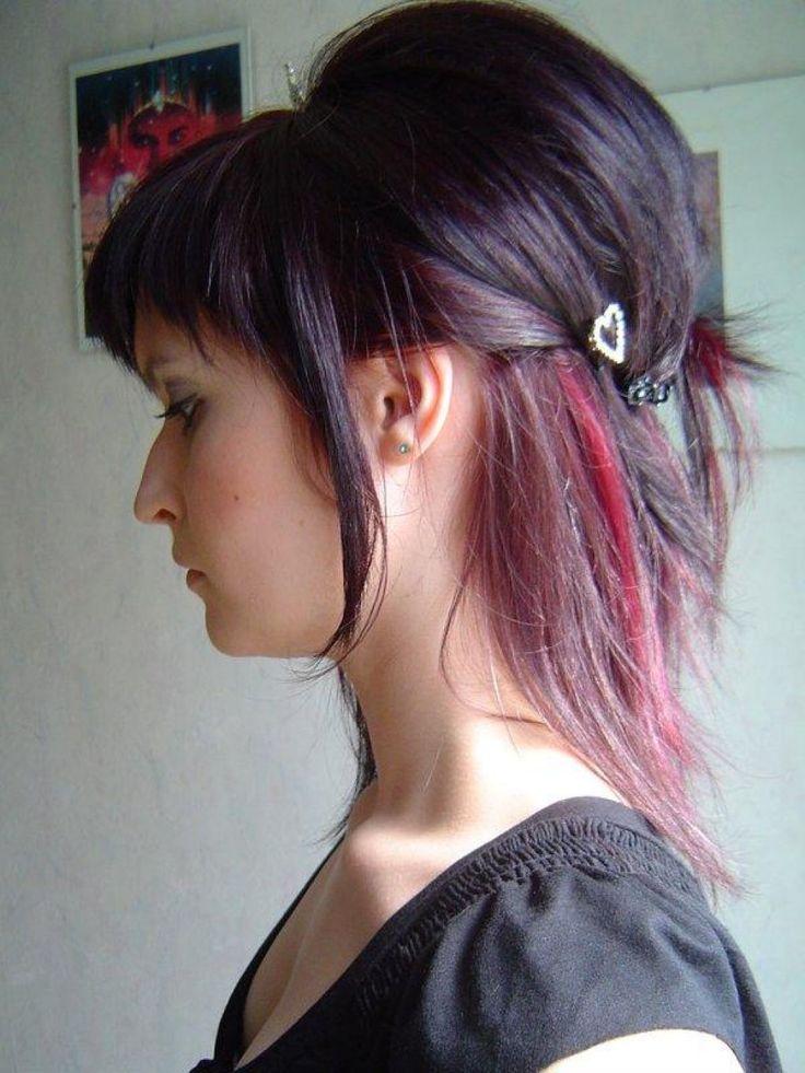 kurze schwarze frisuren farbe | hair styles 2014, short