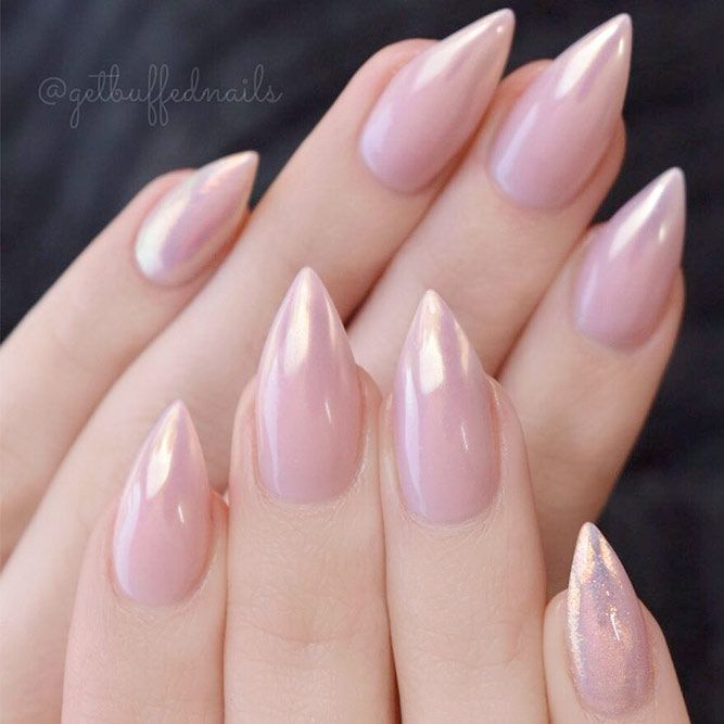 21 Fantabulous Pointed Nail Designs to Finish Your Fall Look ❤ Cute and Stylish Nude Stiletto Nails picture 2 ❤ Pointed nail designs are still on the edge of popularity but the change is obvious. As the season changes so are the trends. We will keep you posted! https://naildesignsjournal.com/pointed-nail-designs-fantabulous-look/ #naildesignsjournal #nails