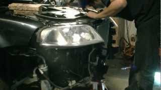 How to replace the Timing belt on a 2004 VW Passat Audi 1 8L Turbo Engine Part 1 - YouTube
