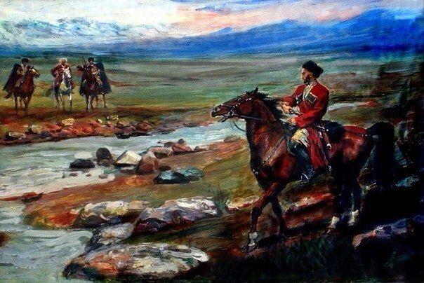 Джанайты Азанбек, Старинная горская песня, 1980