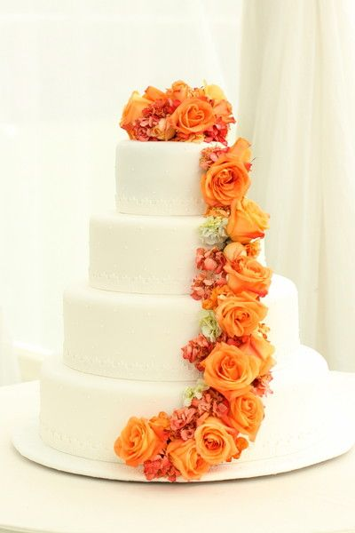wedding cake orange best 25 orange wedding cakes ideas on orange 23347