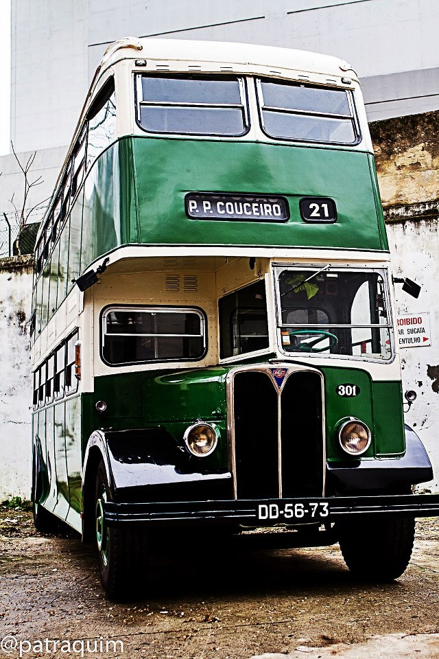 """Carris"", an old bus. Once upon a time, this was a bus in Lisbon streets."