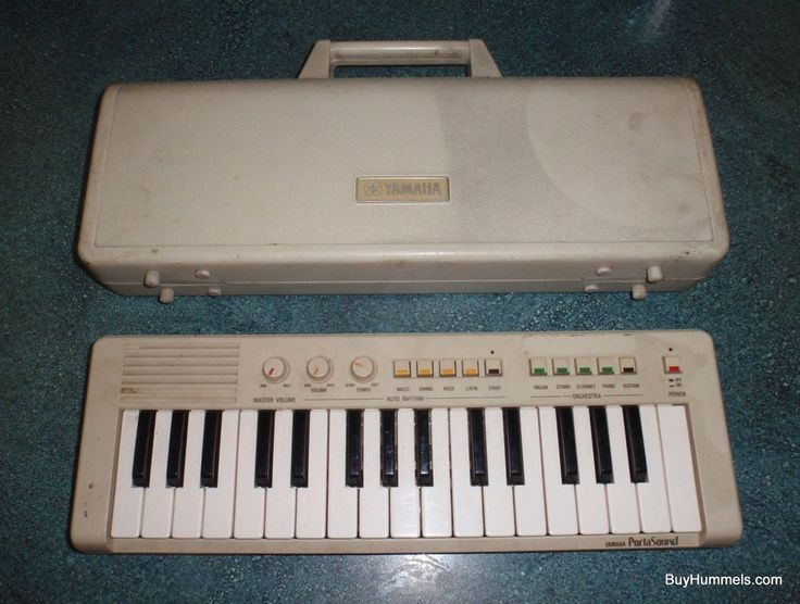 Vintage Yamaha PortaSound PS-1 Electric Keyboard With Case CHRISTMAS GIFT! #Yamaha