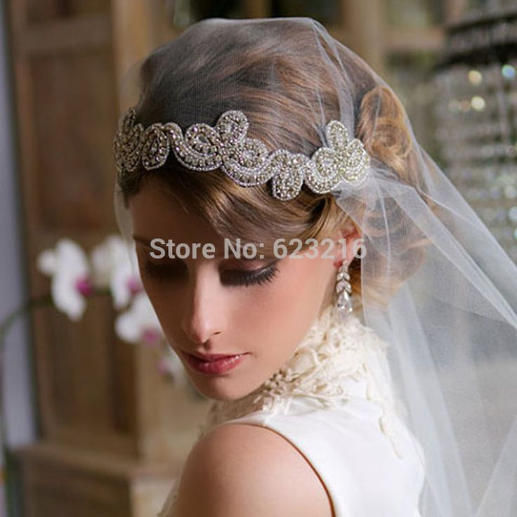 vintage wedding veils over face - Google Search