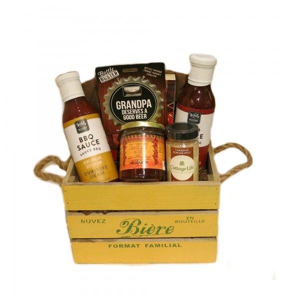 Grandpa Deserves a Good Beer Gift Basket