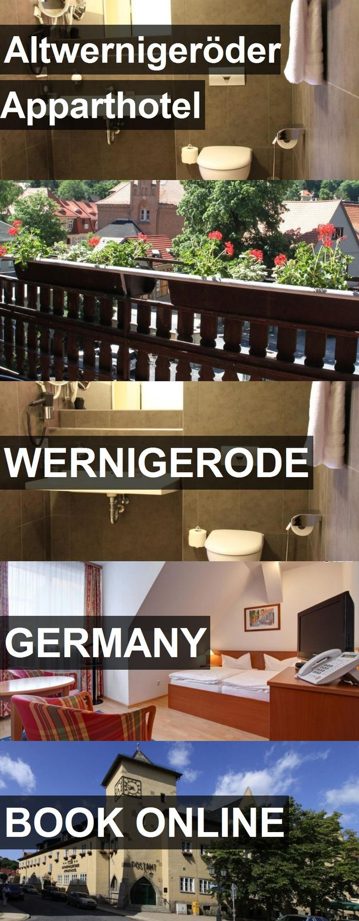 Hotel Altwernigeröder Apparthotel in Wernigerode, Germany. For more information, photos, reviews and best prices please follow the link. #Germany #Wernigerode #AltwernigeröderApparthotel #hotel #travel #vacation
