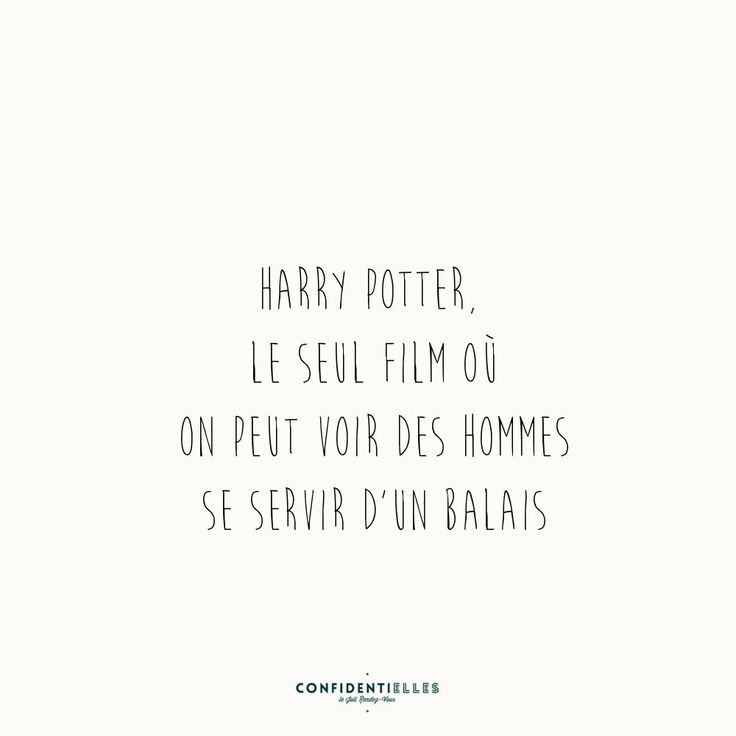 Mot Harry Potter - Confidentielles
