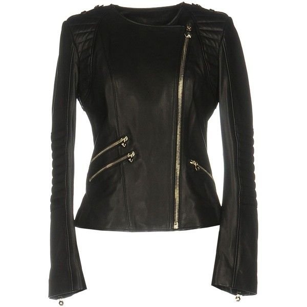 Philipp Plein Jacket ($3,445) ❤ liked on Polyvore featuring outerwear, jackets, black, philipp plein jacket, zip pocket jacket, philipp plein, long sleeve jacket and zip jacket
