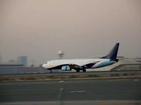 Сегодня в аэропорту Дубаи сел неопознанный самолет