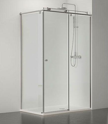 Steel mamparas de ba o y ducha a medida correderas - Vidrio templado a medida ...